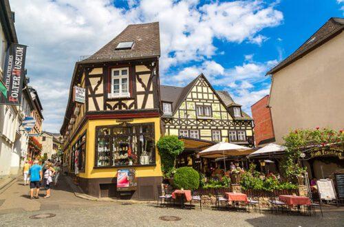 Duitsland-rudesheim