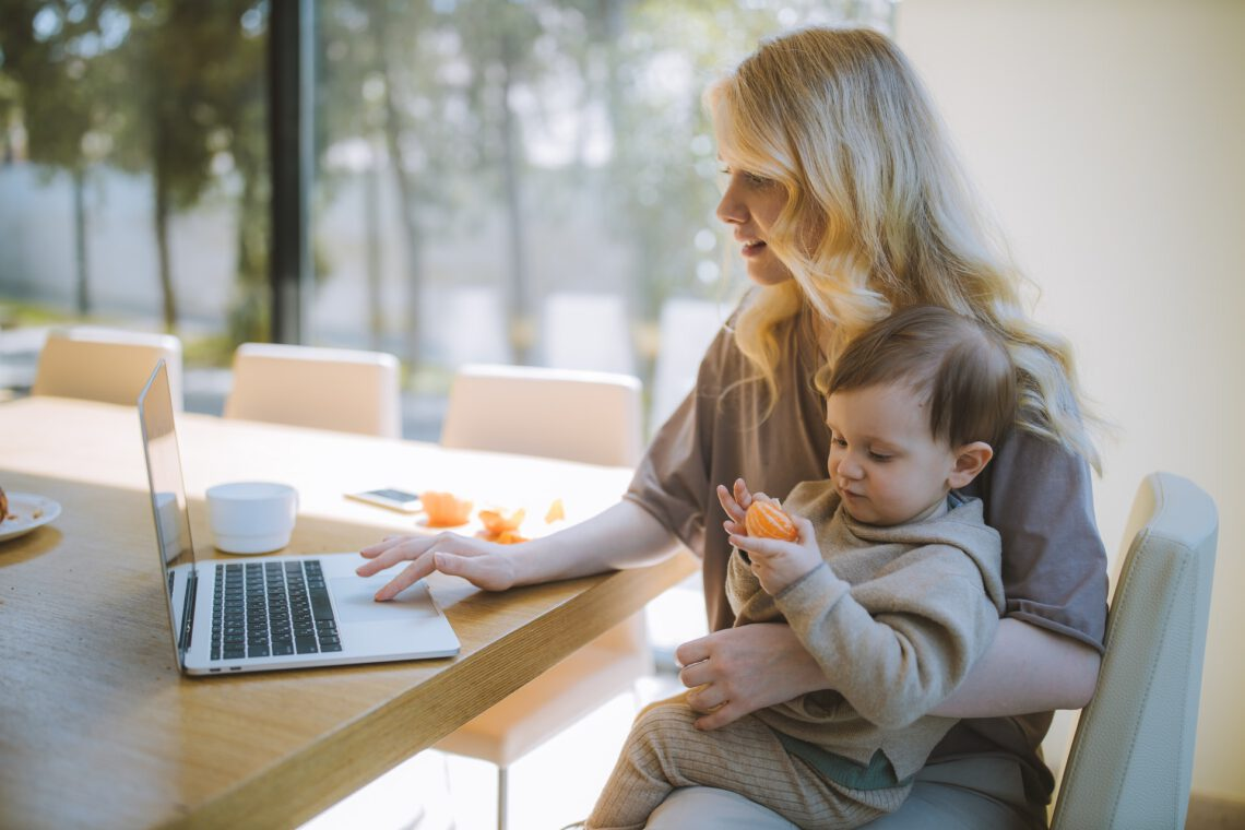 thuiswerken met kinderen